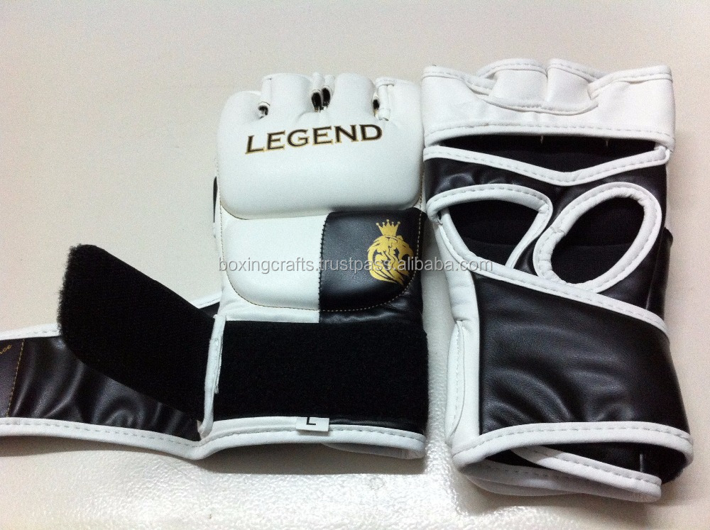 MMA Glove gym fingerless mma/ ufc/boxing gloves for fighting/grappling/ batting