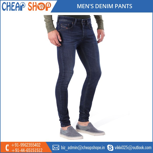Custom Made Adults High Quality Cotton Jeans Men 2016 Denim