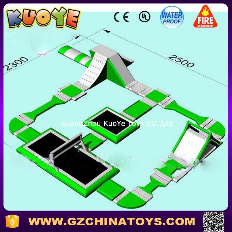 high quality floating water park inflatable giant inflatable water park