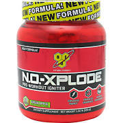 BSN N.O.-Xplode Pre-Workout Igniter Supplement, Green Apple - 30 servings