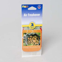 AIR FRESHENER 3PK FRESH STRAWBERRY #10146