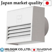 Square-shaped ventilation opening Silver white SKC-75