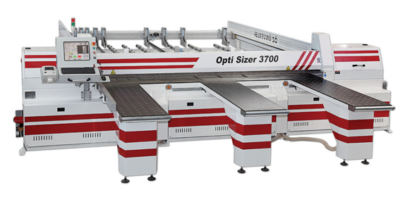 CNC sliding table panel saw machine