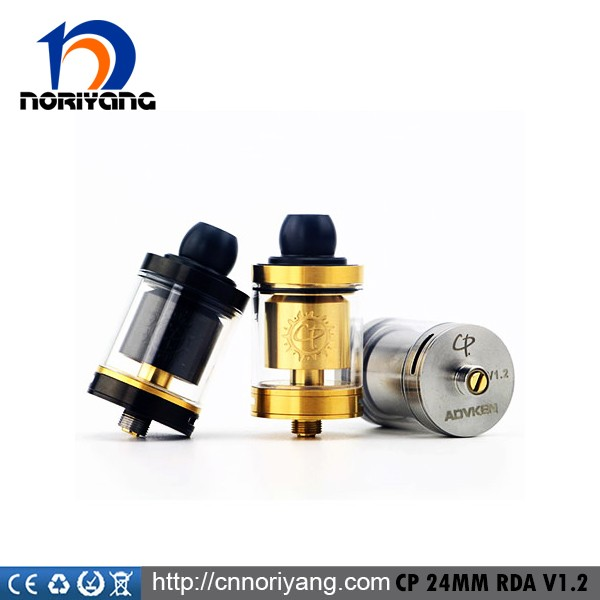 100% Original ADVKEN CP 24mm RTA with gold/black/silver in stock wholesale price
