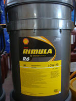 Heavy duty diesel engine, fully s ynthetic Shell Rimula R6M 10W-40 Lubricant 20 liter plastic pail