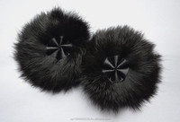 flower rabbit fur (accessory)
