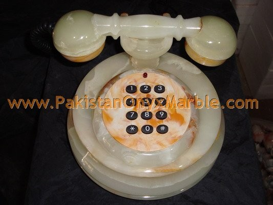 STYLISH ONYX TELEPHONE SETS HANDICRAFTS