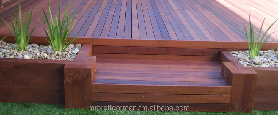 Kwila Timber Decking Boards random length