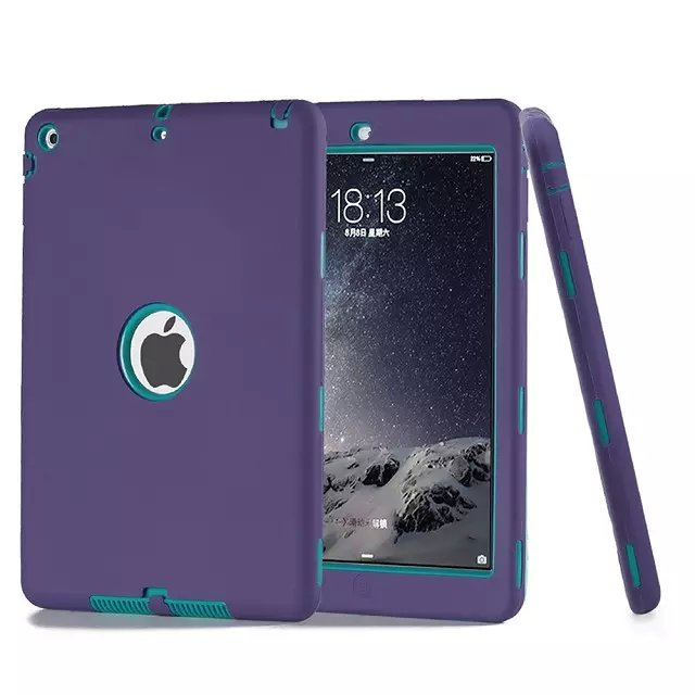 Shockproof Protective silicone drop proof case cover for apple ipad mini 2/3/4