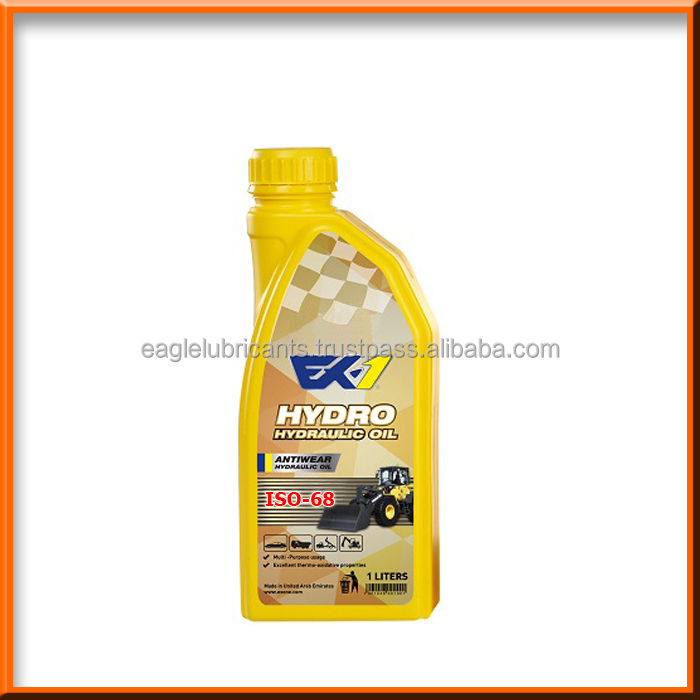 EX-1 Hydraulic Oil ISO 68 1L [Advanced Anti wear, Industrial Oil, Super, High, Premium Quality, Virgin Base Oil]
