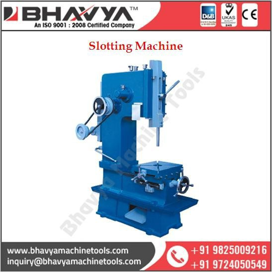 Slotting Machine Used in Automotive/Furniture/Electrical/Cnstruction and other heavy industries