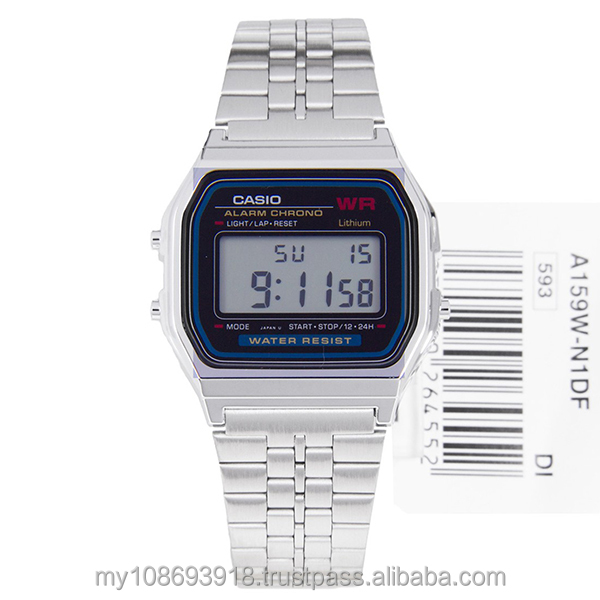 General Watch A159WA-NID Alarm Chrono Digital Japan Movement