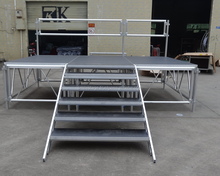 RK event High quality mobile stages,portable stage platform/aluminium /iron stages frame