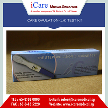 High Accuracy iCare Ovulation LH Test Kit for Home use