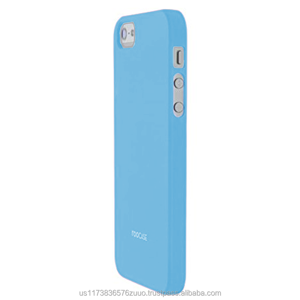 S1-R series Ultra slim shell case with polyurethane matte coating for iPhone 5/5s (not compatible with 5c) roocase (Blue)
