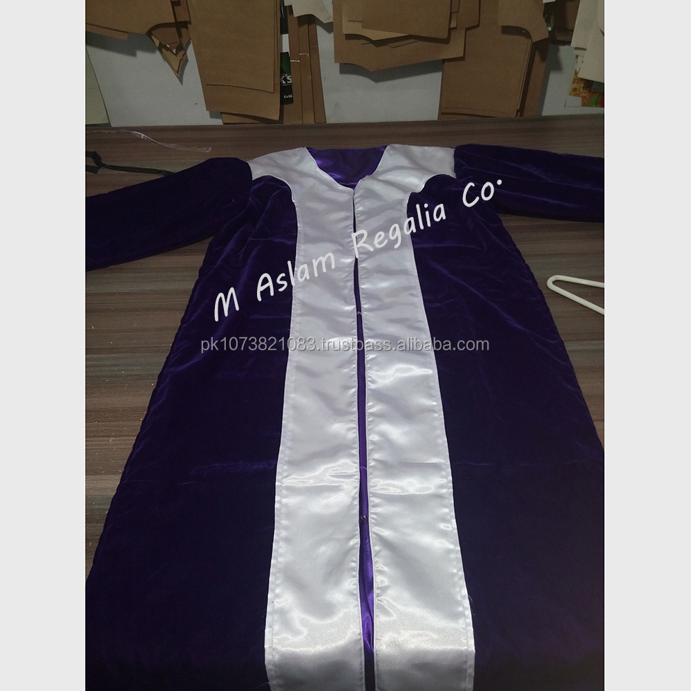 Royal Arch Principals Robes,Purple Velvet Robes, High quality reasonable price Velvet Robes