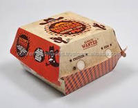 custom printed burger boxes for fast food chains, cafes, restaraunts, coffee shops