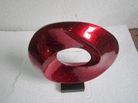 Lacquer sculpture for gift, cheap price, high quality, shiny red