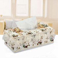 New Attractive and Beautiful Decorative Tissue Holder for your Home or Car (Random Colors)