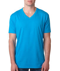 MEN'S V NECK TEE SHIRT