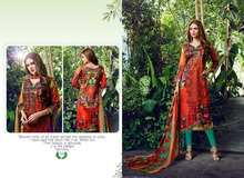 Ladies Winter Suits Salwar Kameez / Neck Designs For Salwar Suits / Dress Material/Indian