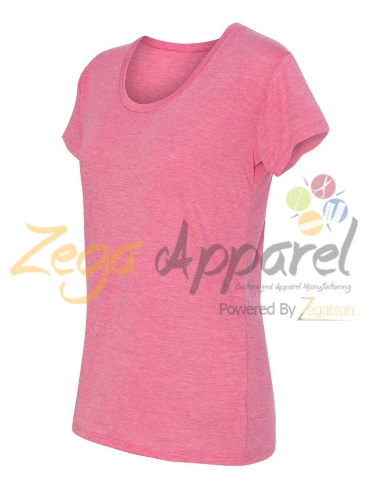 Zega Apparel Good quality women free printed custom t-shirts no minimum