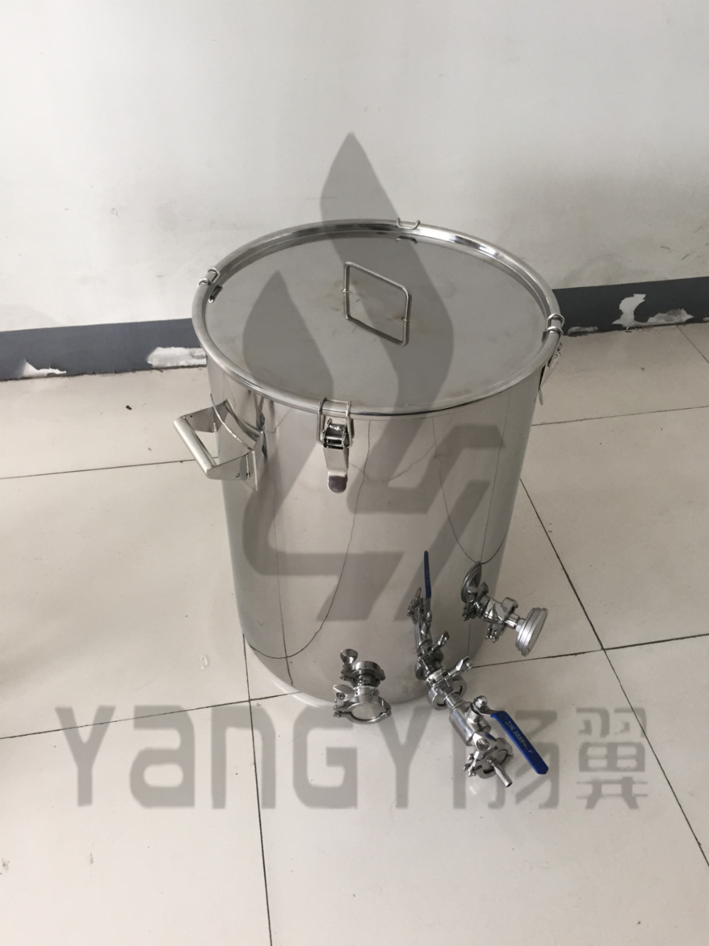 Hot sale stainless steel mash tun fermenter brew kettle home beer brewing equipment
