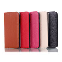 IMPRUE Genuine leather Flip case with credit card holder for iphone 6