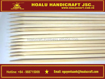 High quality bamboo kewers made in Vietnam
