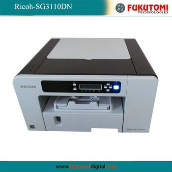 how to use ricoh sublimation printer