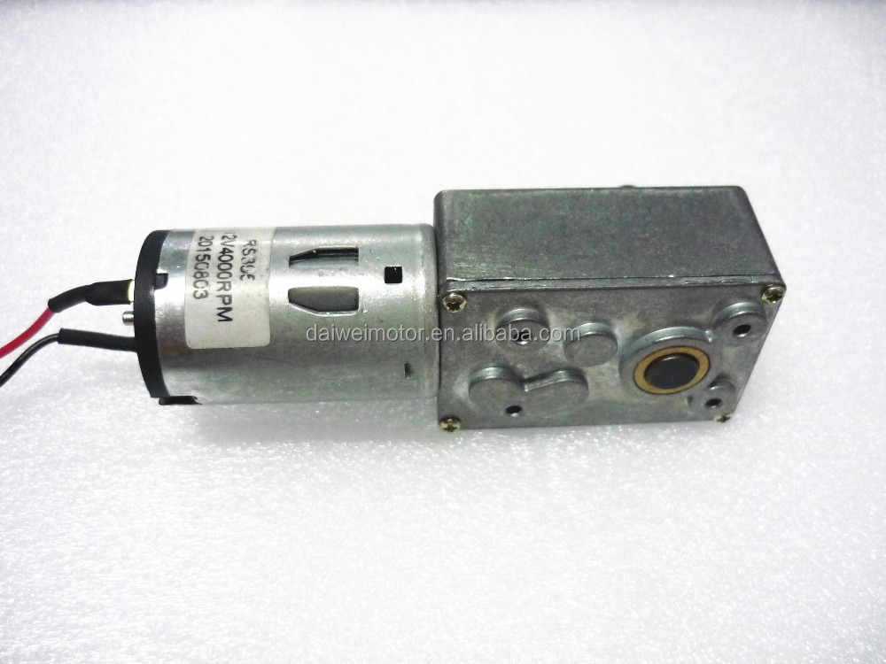 12v 24v High Torque Low Rpm Mini Dc Worm Gear Motor Buy Dc Micro Worm Gear Motor Low Speed