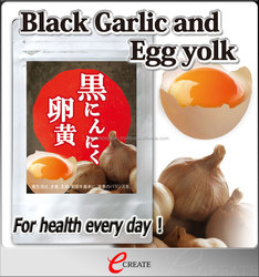 Healthy and Safe slimming pills Black Garlic and Egg yolk for men and women , OEM available