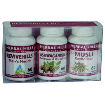 Herbal Suppliments Men's Overall Health Development Programme