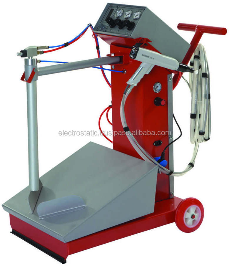RAINBOW powder coating equipment (multi color type)