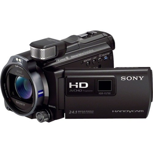 SONY - HDR-PJ790V HIGH DEFINITION HANDYCAM CAMCORDER WITH 3.0-INCH LCD - BLACK