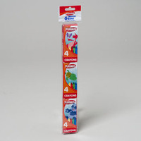 CRAYONS 6 - 4 CT PACKS BOXED PLAYSKOOL #11316