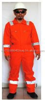Lightweight FR Cotton Coveralls - 220 GRAMS