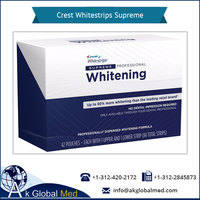 Advanced & Effective Crest Teeth Whitestrips for Oral Hygiene | Box of 84 Strips