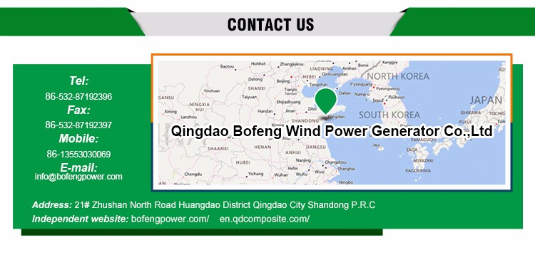 Qingdao Supplier Durable 300w-10kw wind turbine solar panels hybrid system energy windmills