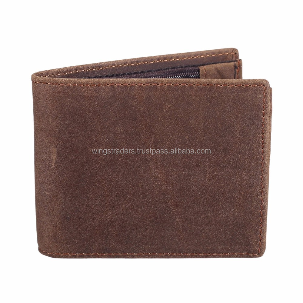 Natural Leather Sleek And Stylish Wallet For Men