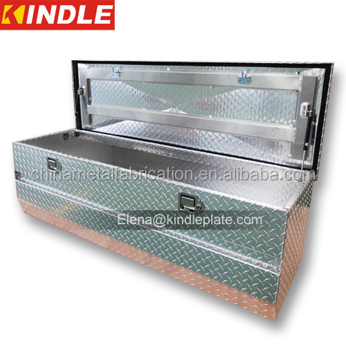 factory direct sales diamond plate pickup aluminum truck toolbox