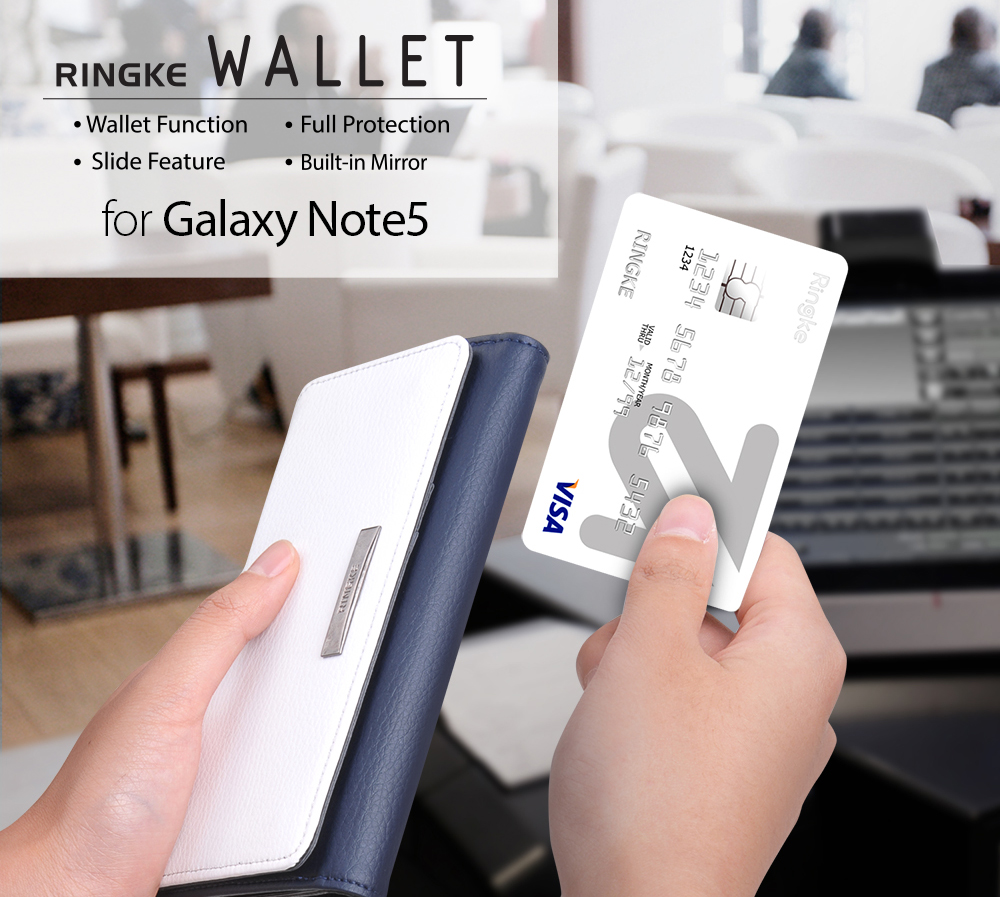 [Ringke] Ringke Wallet Smart Phone Case For Galaxy Note 5