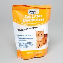 CAT LITTER DEODORIZER 1 LB BAG ROYAL PET #410