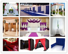 Hot sale pipe drape kit for wedding/events/trade show/photo booth