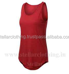 lady crop tank top