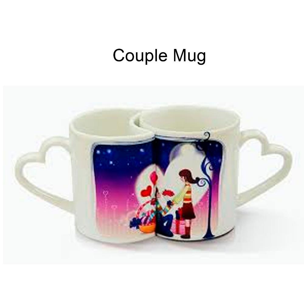 fukutomi 11oz ceramic coffee cup love mug love handle sublimation