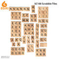 wooden tiles scrabble letter tiles craft