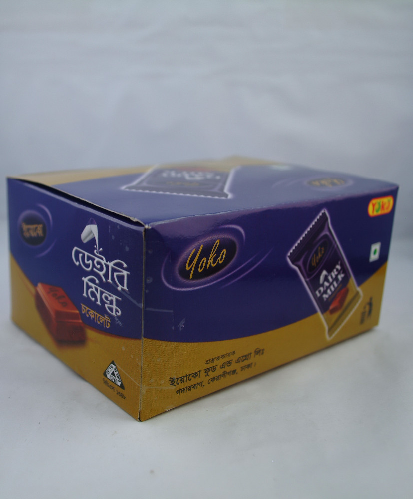 Yoko Dairy Milk Chocolate 35 gms Box.