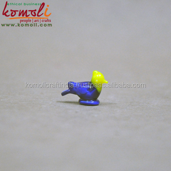 Tiny miny miniature glass bird miniature glass figurines