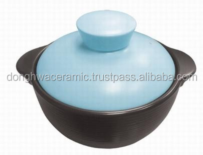 Dong hwa ceramic Blue Pastel pot 25cm high quality made in Viet Nam